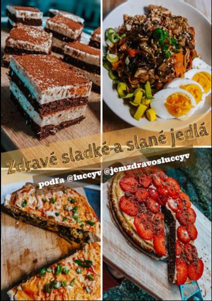 Sladké a slané nízkokalorické recepty