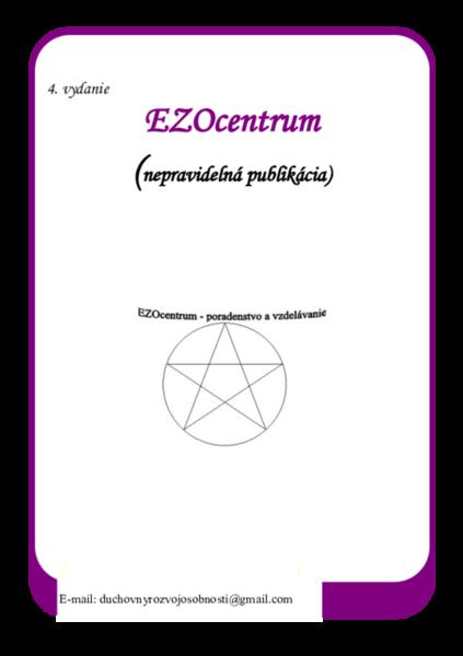 EZOcentrum 4. vydanie (nepravidelná publikácia)