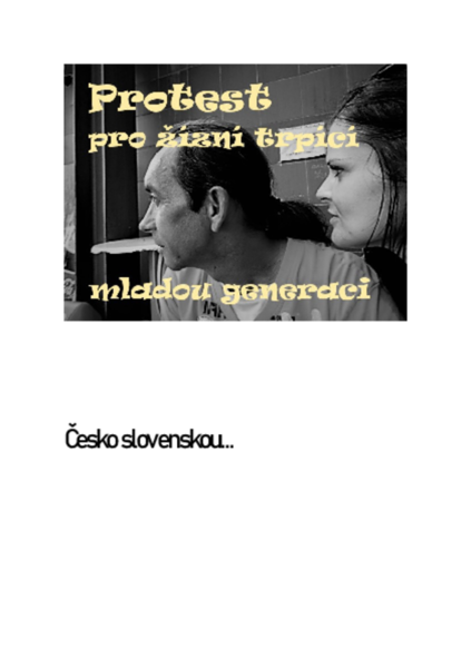 Príručka záchrany pro mladé lidi, Česky a Slovensky..