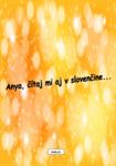 Anya, čítaj mi aj v slovenčine
