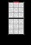 9x9 Sudoku ľahká