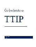 Čo (ne)viete o TTIP